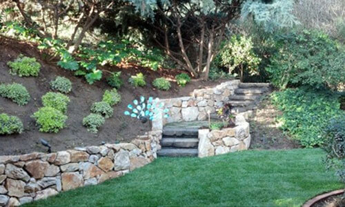 Backyard Landscape Design Rancho Santa Fe