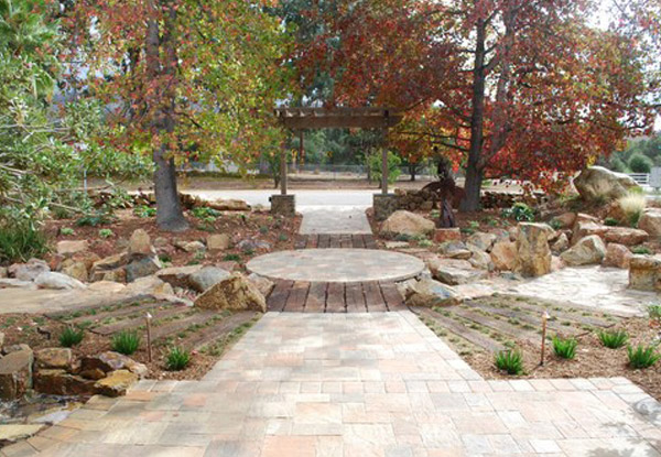 Landscaping with Natural Boulders, Vista, CA