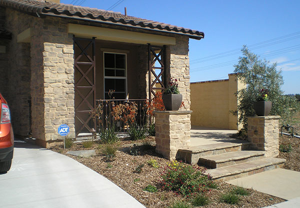 Paved Entryway in Carlsbad, CA