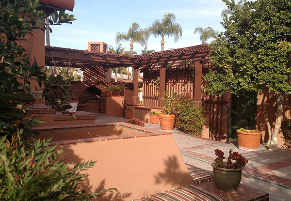 Custom Designed Patio in Kensington, CA