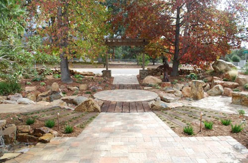 Natural Stone Work & Specialty Plants