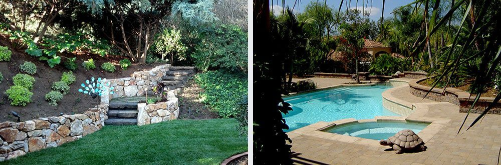 Pool Water, Waterfalls Features Escondido